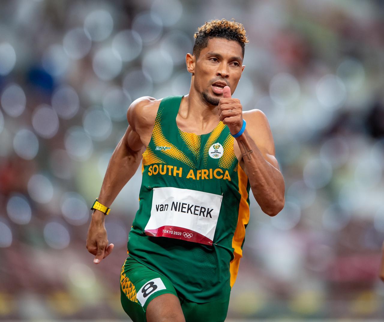 Van Niekerk 'very disappointed' after 400m exit