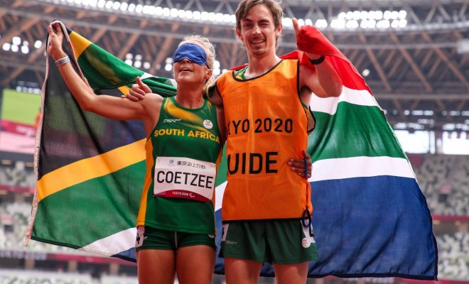 Plan comes together as Coetzee wins SILVER