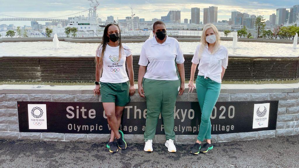 The women behind Team SA's Tokyo 2020 success story