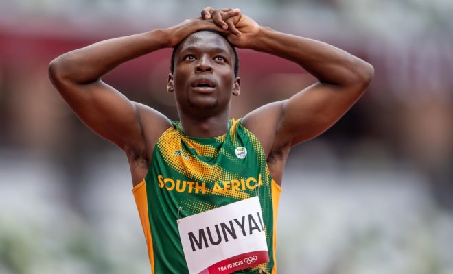 Men's sprinters shine to reach 200m semis