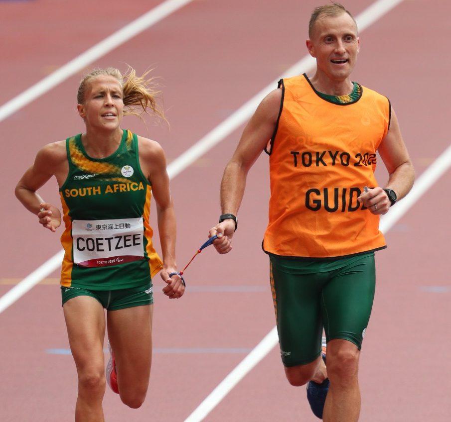 Coetzee surges to bronze in women's marathon