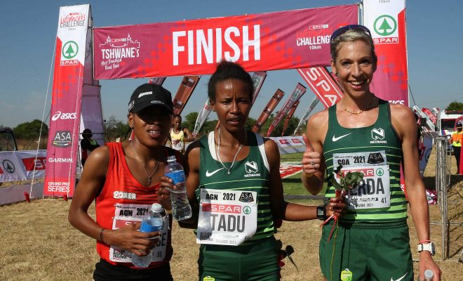 Nare continues her dominance in 10km series